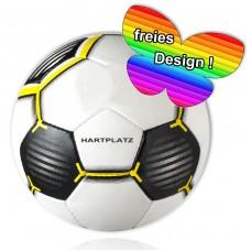 soccer ball HARTPLATZ with name & logo