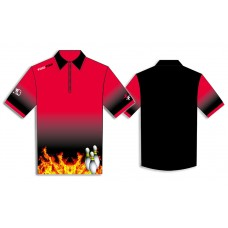 bowling shirt FIRE3PINS