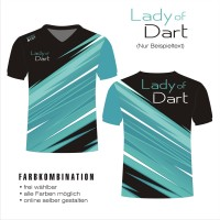 tshirt LADY OF DART 03