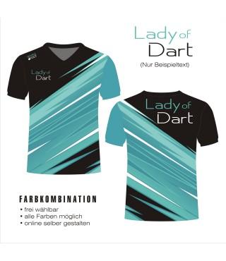 tshirt LADY OF DART 03