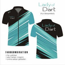 zipped poloshirt LADY OF DART 03