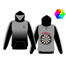 dart hooded shirt SMOKE
