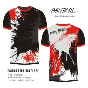 shirt PAINTBALL 7