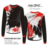 shirt PAINTBALL 7 long sleeve